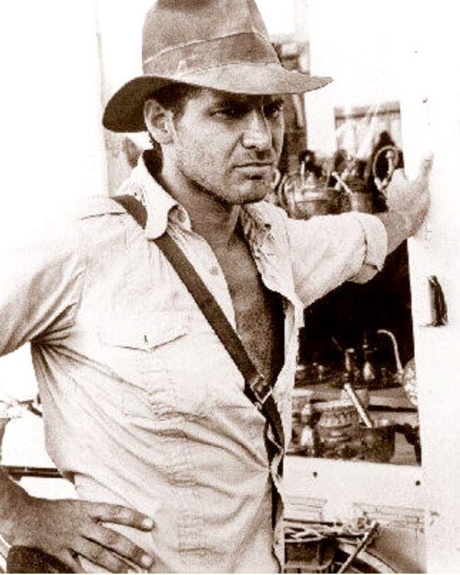 Vintage Photo Of Indy In Cairo Indiana Jones