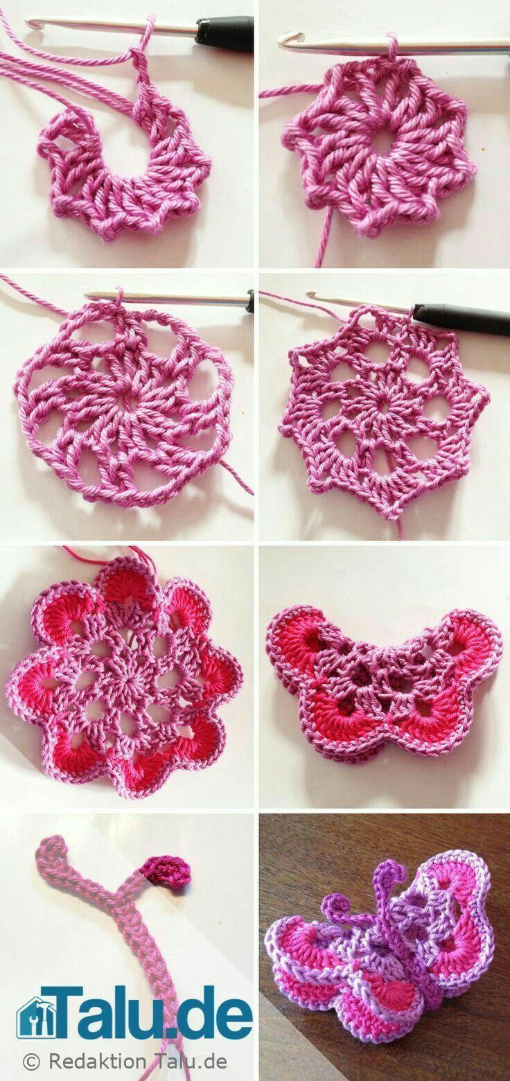 Pin von Sadafsamreen auf crochet | Pinterest | Häkelmuster und ...