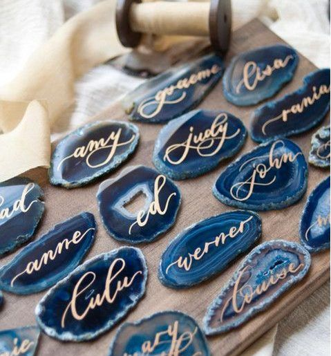 Beautiful Blue Agate Wedding Inspiration