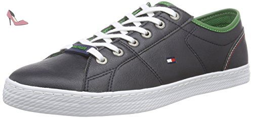 Tommy Hilfiger D2285ONNIE 1A, Sneakers Basses homme Bleu