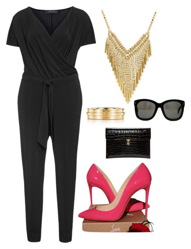 """""""Embrace your BEAUTY"""" by heirymarmol on Polyvore featuring Sallie Sahne, Christian Louboutin, Tiffany & Co., Alexander McQueen and Linda Farrow"""