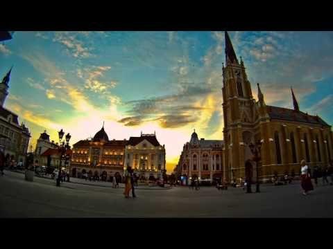 Novi Sad in motion – Timelapse