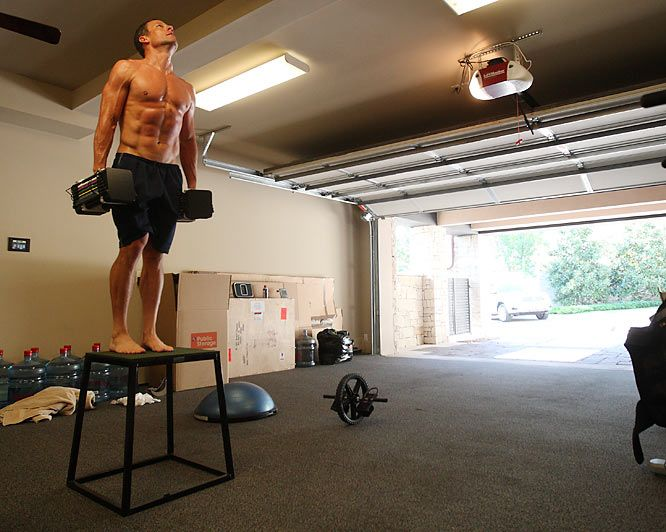 Lance armstrong still a badass sports garage gym weight