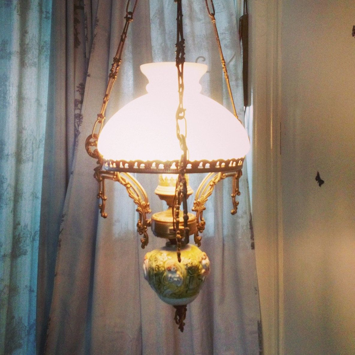 Frenchpasttimes shared a new photo on farmhouse lamps