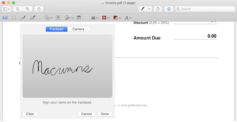How To Electronically Sign A Pdf Using Preview On Mac With Images