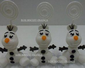 Olaf frozen porta recado(promoção)