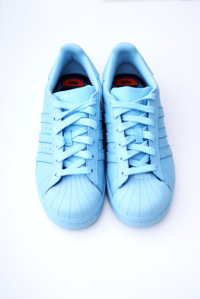adidas supercolor pharrel williams clear sky1   Moda