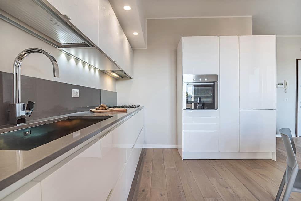 Ristrutturazione appartamento milano, pioltello cucina