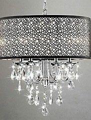 MAX:60W Tradizionale/Classico Cristallo Cromo Metallo Lampadari ...