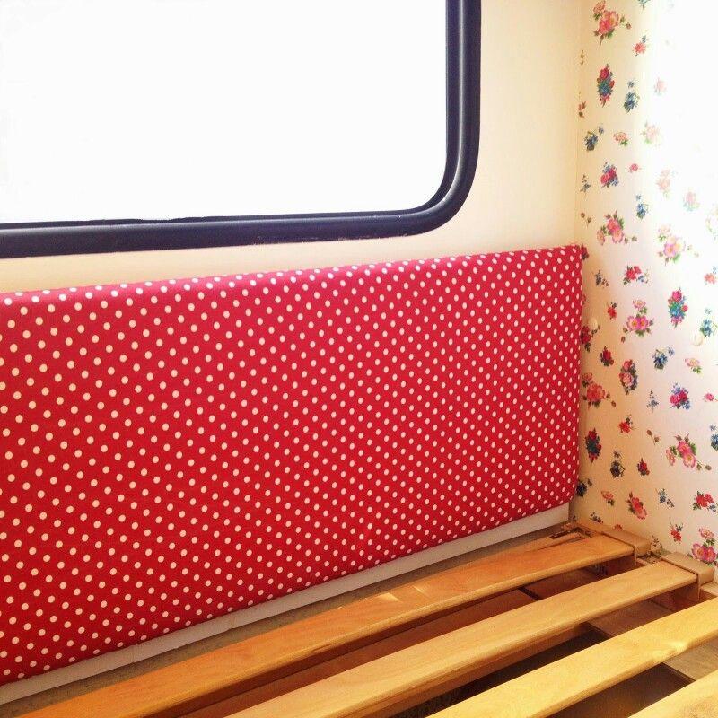Wände polstern im Kinderzimmer Wohnwagen-Ideen Pinterest
