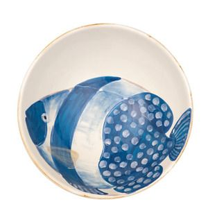 Adriatic Fish Serving Bowl from #Vietri.  luv the whole collection!