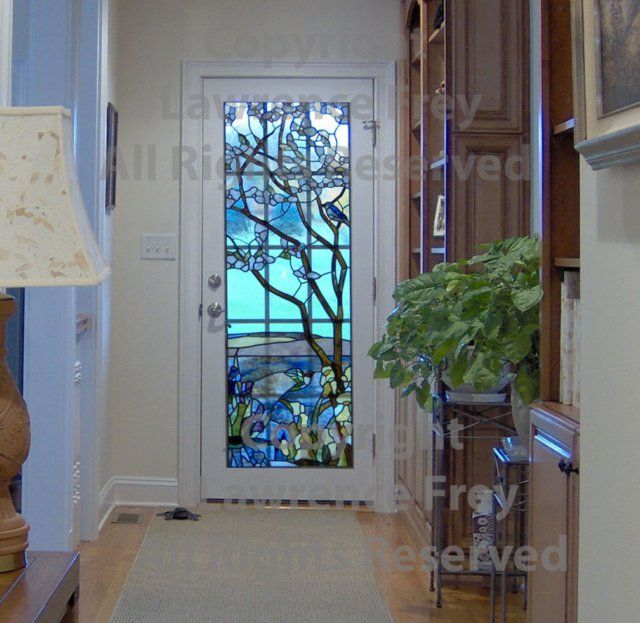 Stainedglassdoors Stained Glass Entry Door In A Bethlehem Pa