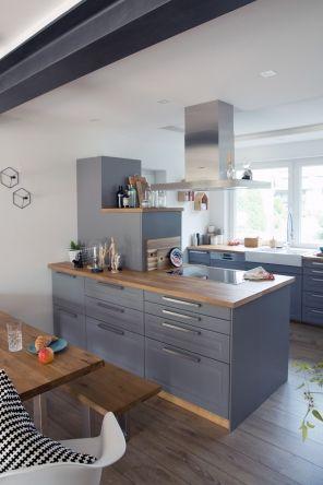 Hausbesuch Küche Pinterest Gray kitchens, Kitchens and Future - küchen aus edelstahl