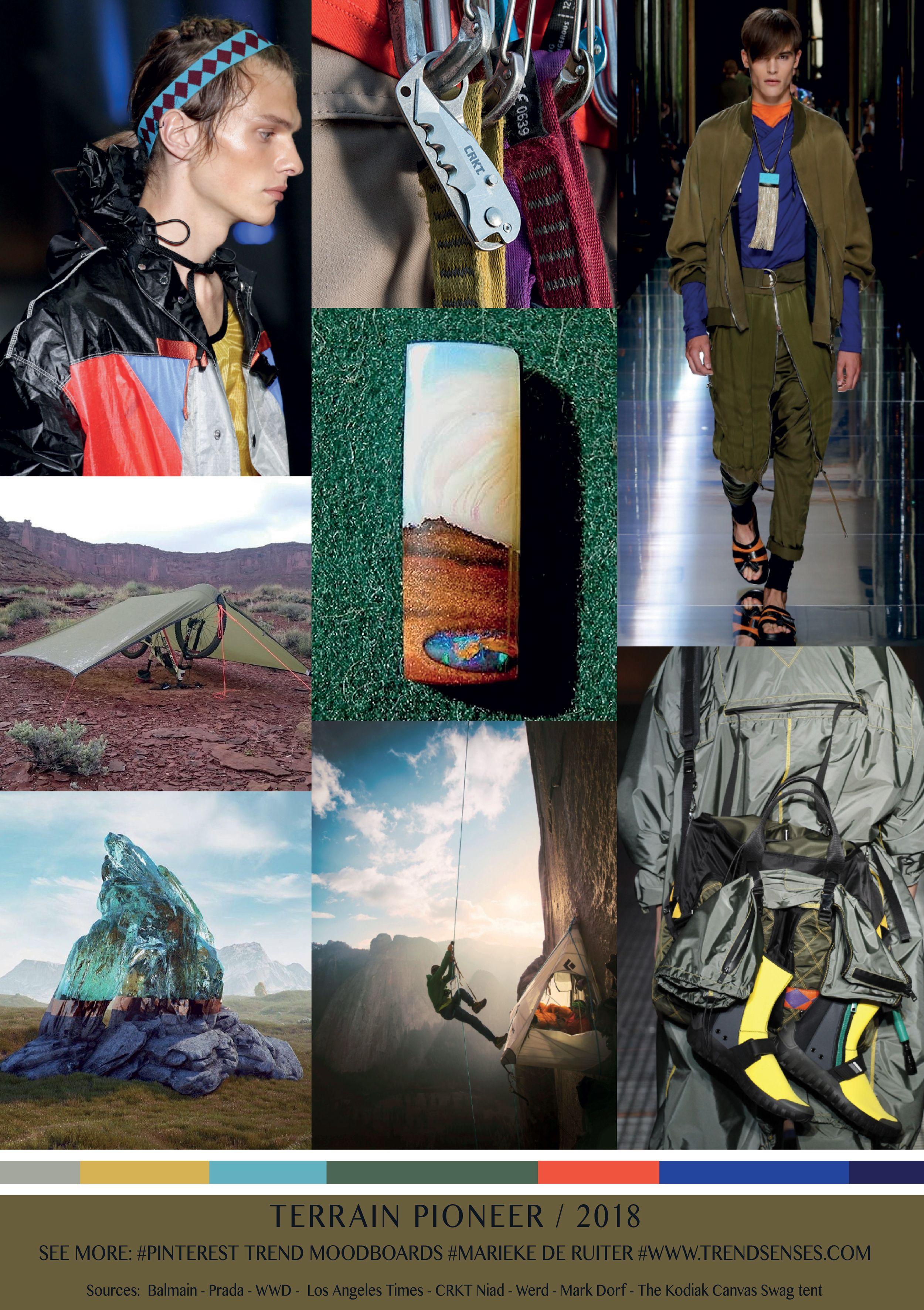 terrain pioneer trend 2018 2019 marieke de ruiter fashion aw 2018. Black Bedroom Furniture Sets. Home Design Ideas