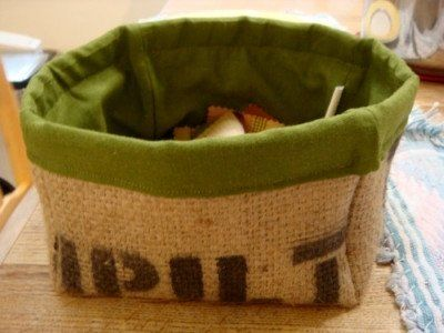 Burlap Crafts; you're bound to find at least one or two ideas.
