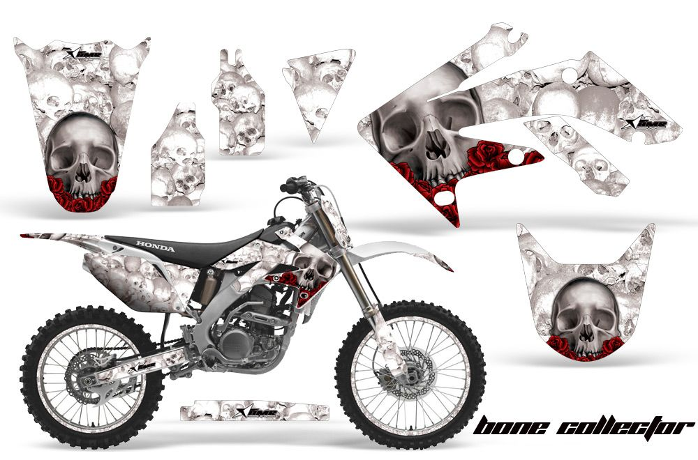 Honda CRF250R 2004-2012 Motocross Graphic Kits with the