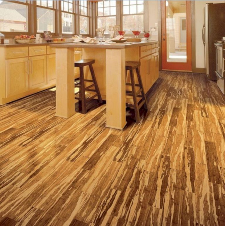 Zebra Bamboo Floor Kitchen 300 With Images Bamboo Flooring