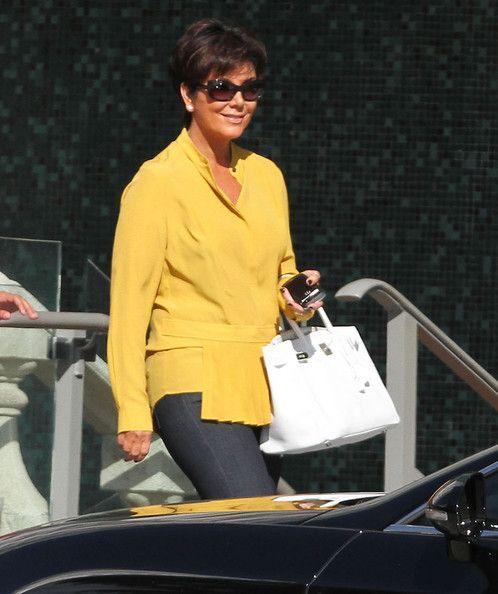Kris Jenner Loose Blouse - Kris Jenner Clothes - StyleBistro 746605ba8f06d