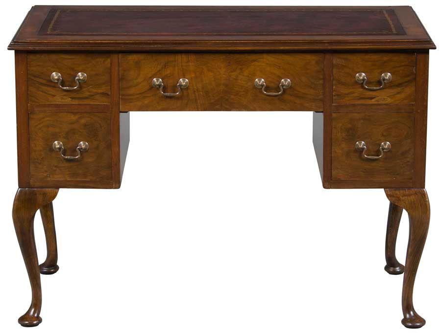 Queen Anne Antique Desk - Queen Anne Antique Desk Antique Desk, Queen Anne And Desks