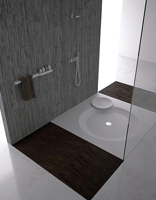 Flush Shower Base Erosion by Dna +