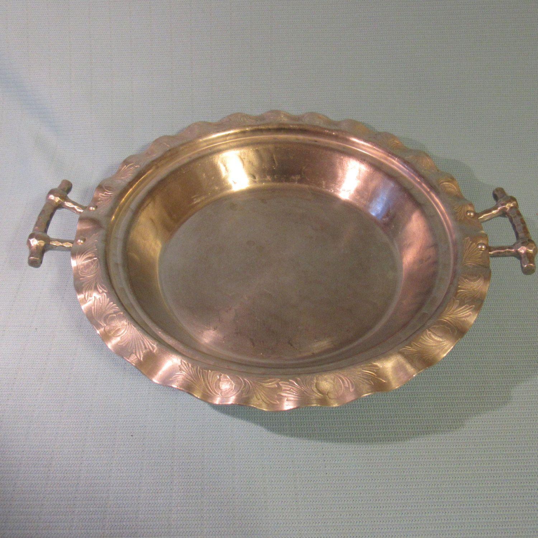 Hammered Aluminum Pie Plate Holder 1950u0027s Everlast Forged Aluminum Pattern #5031 by AshleysSunroom on Etsy & Charming Hammered Aluminum Pie Plate Holder 1950u0027s Everlast Forged ...