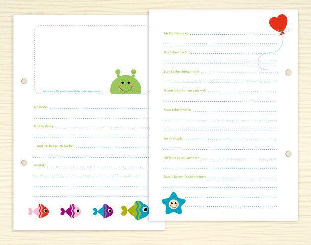 Freundebuch-Seiten für Lehrer und Erzieher | Freundebuch, Erzieherin ...