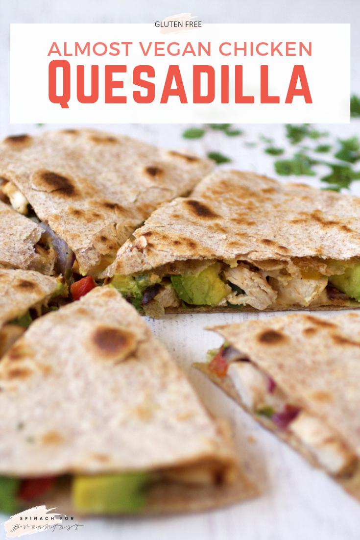 Gluten Free Chicken Quesadillas Recipe Vegan Crockpot Recipes Quesadilla Vegan Crockpot