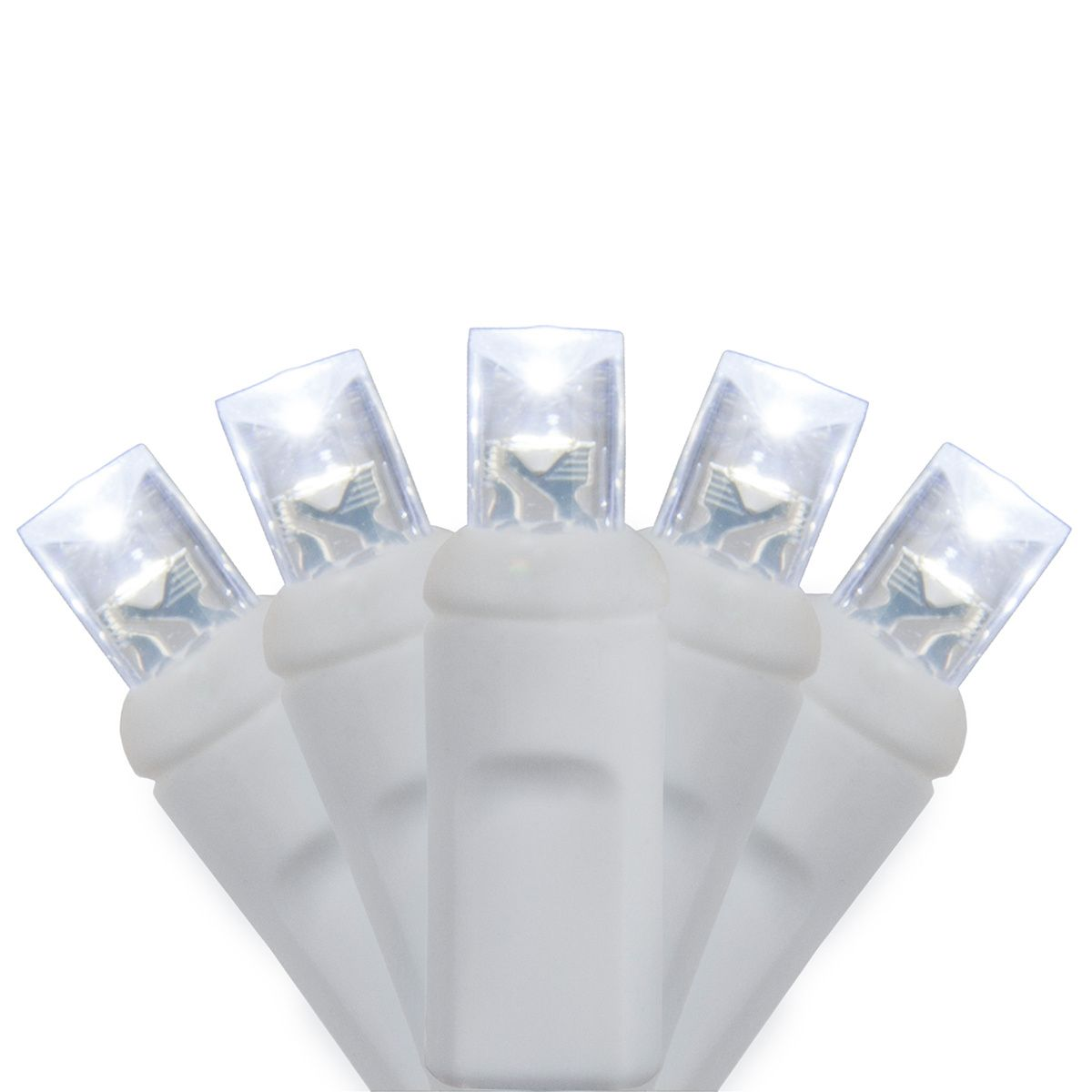 70 5mm Cool White LED Christmas Lights, 4\