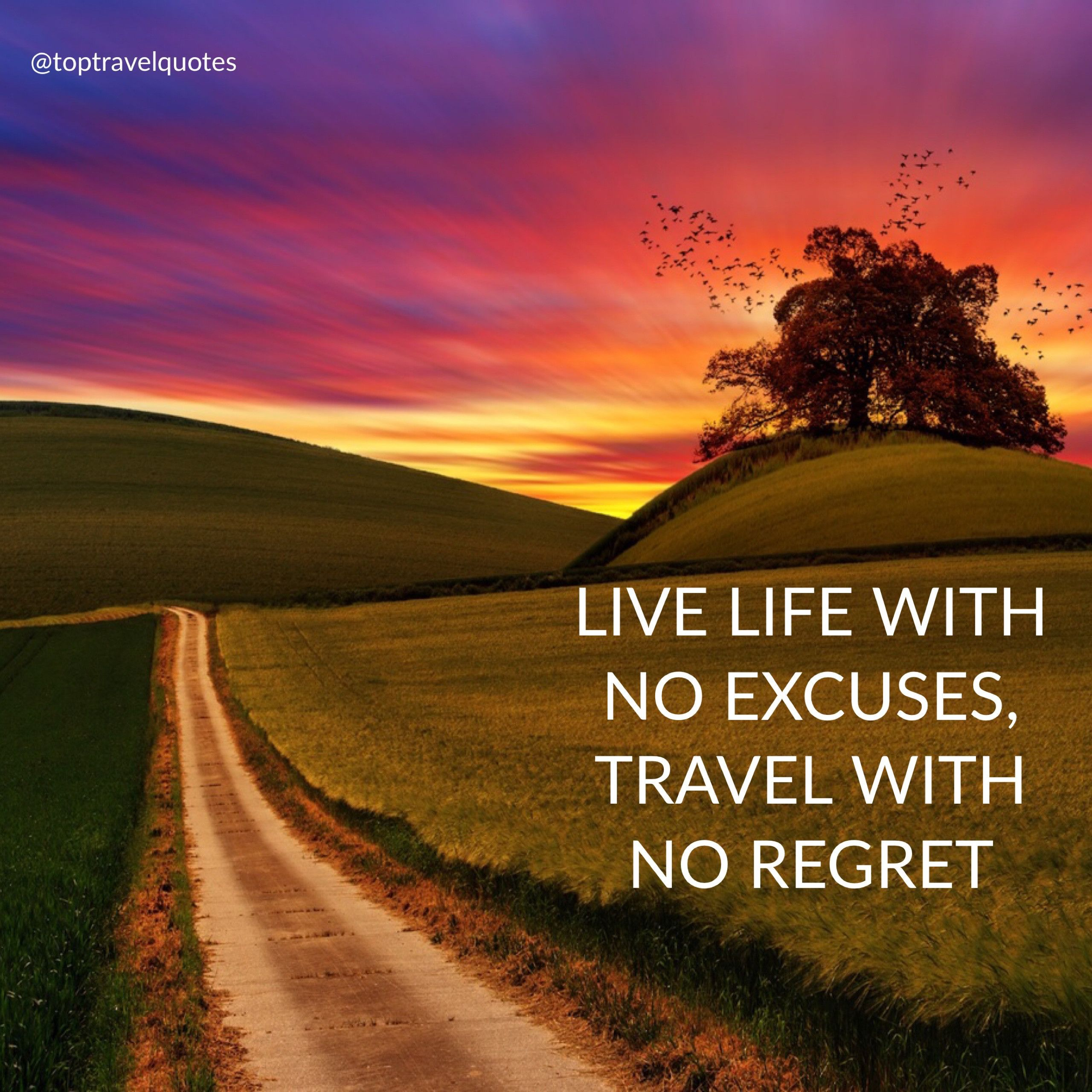 Live Life With No Excuses Travel With No Regret Travel Adventure Travel How To Memorize Things