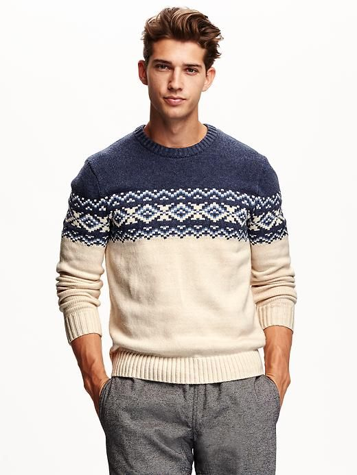 Men's Fair Isle Sweater | Christmas List 2015 | Pinterest | Fair ...