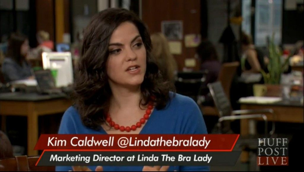 f0b7da74f7 Kim Caldwell Marketing Director for Linda s talks thongs on HuffPost LIVE