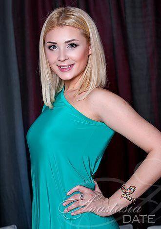 Lone Russian woman Oksana from Kiev, 28 yo, hair color Blond ...