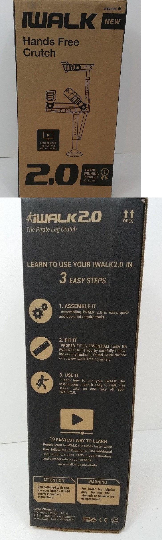 Crutches New Iwalk 20 Hands Free Knee Crutch Free Shipping