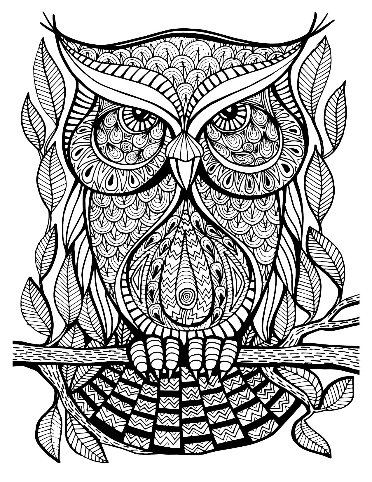 Check out this great adult coloring image straight out of our new ...