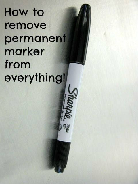how to remove permanent marker this might come in handy someday share so you can go back to. Black Bedroom Furniture Sets. Home Design Ideas