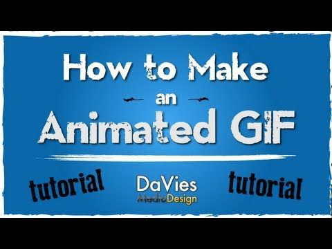 2013 GIMP Tutorial How to Make an Animated Web Banner (GIF - how to make banner for youtube