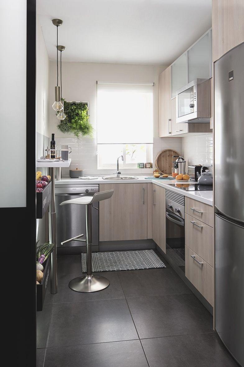 Resultado De Imagen De Reforma Leroy Merlin Cocinas De Casas Pequenas Diseno De Interiores De Cocina Cocinas De Casa