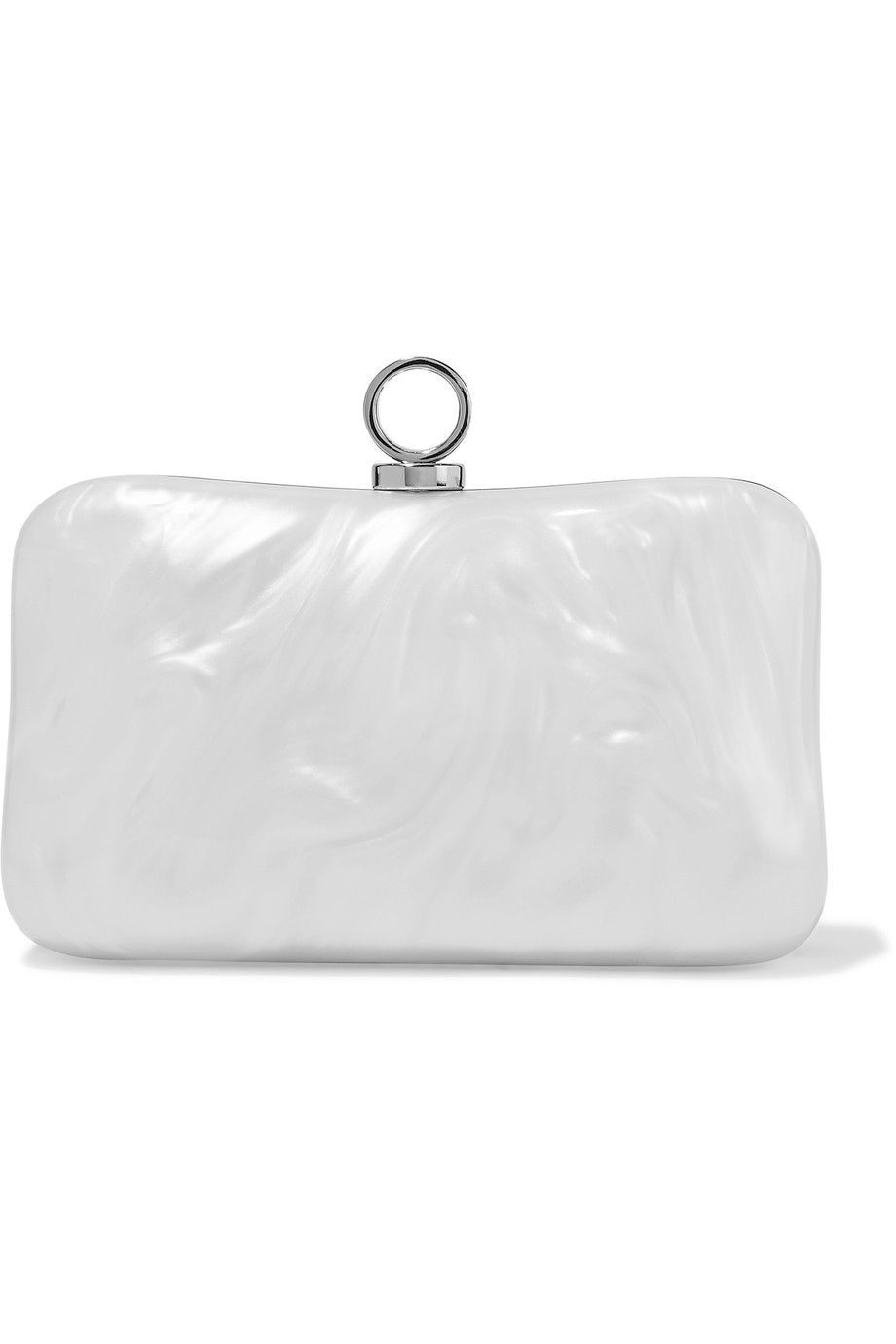HALSTON HERITAGE Marble-effect acrylic clutch.  halstonheritage  bags   shoulder bags   284688064ed37