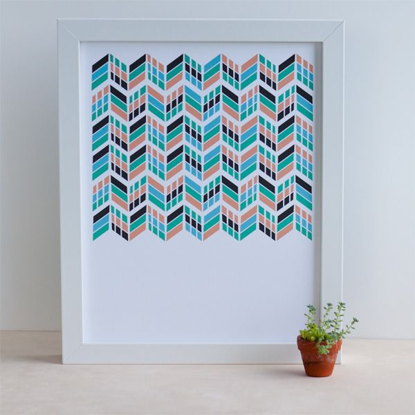Chevrons on Parade from Vicinity Studio $14.00, I want to print things like this for my whole life!