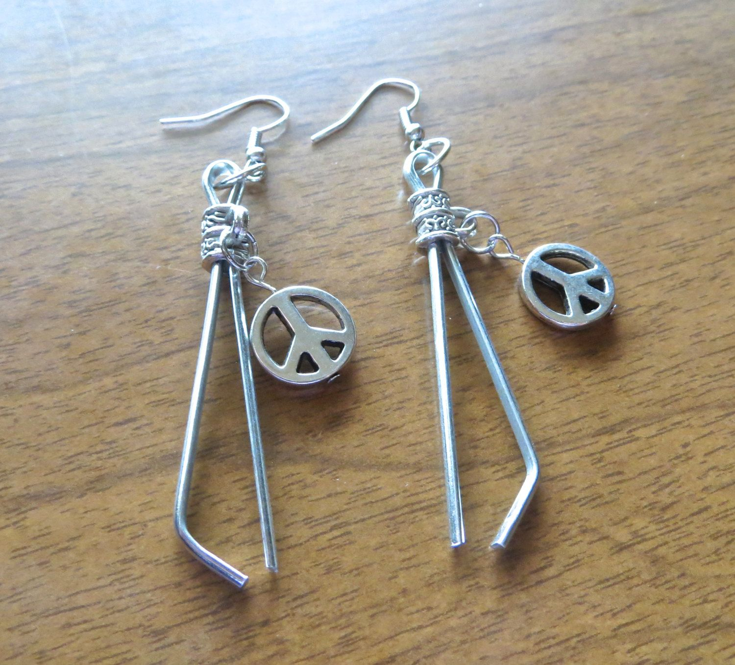Roach clip earrings
