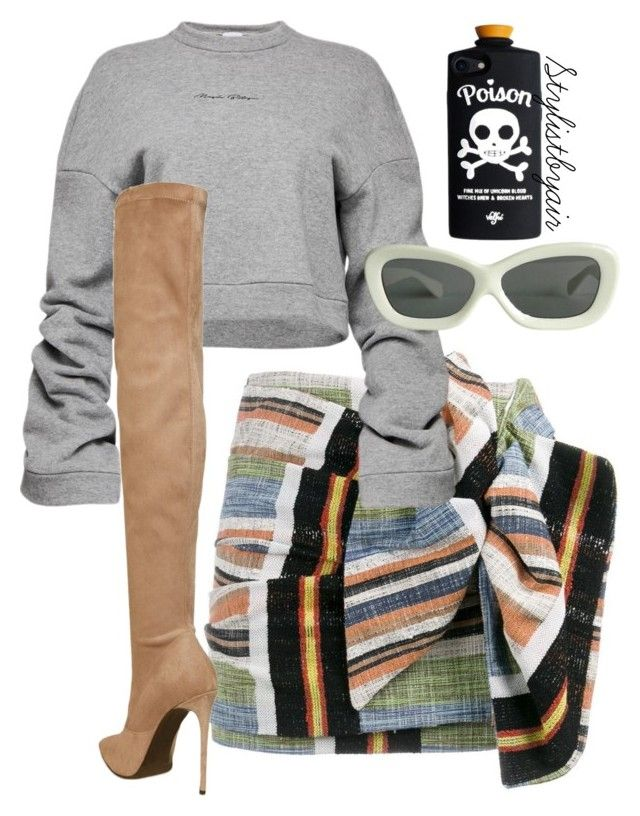 """Untitled #6676"" by stylistbyair ❤ liked on Polyvore featuring N°21, Magda Butrym and Le Silla"