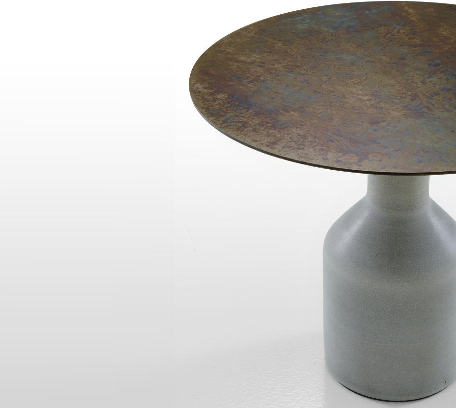 OXYDATION Occasional Tables Designer Kateryna Sokolova Ligne