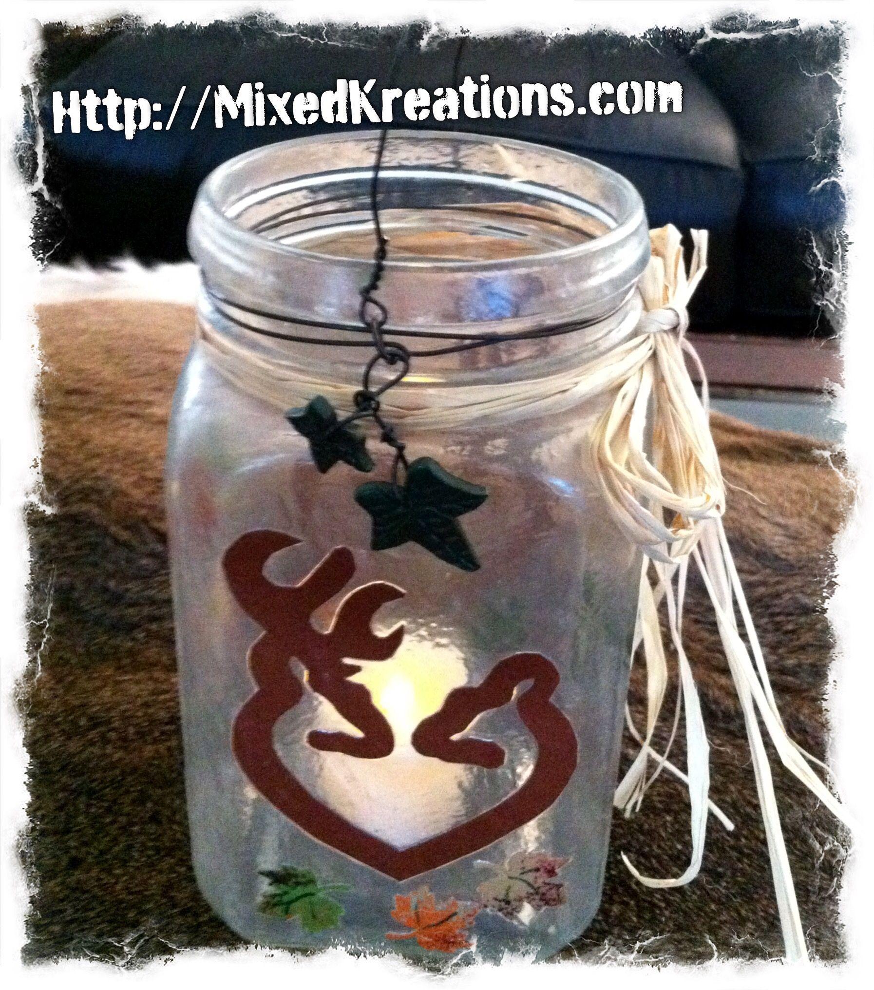 Diy Mason Jar lantern #diy #MasonJarCraft