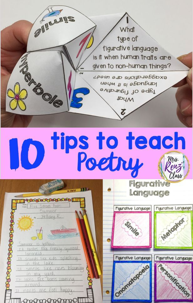 10 Tips To Effectively Teach Poetry