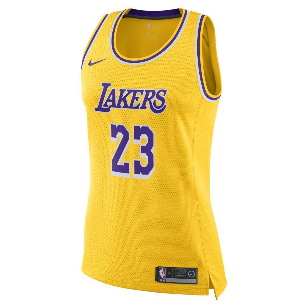 Lebron James Lakers Icon Edition Women S Nike Nba Swingman Jersey Nike Com Nba Swingman Jersey Lebron James Lakers Los Angeles Lakers [ 1080 x 1080 Pixel ]