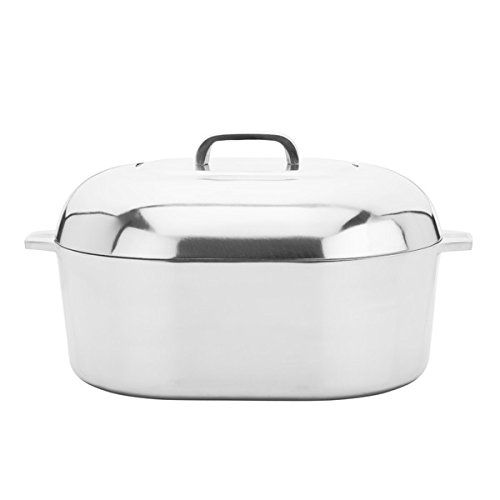 Magnalite Classic Cast Aluminum 15inch Oval Covered Roaster More Info Could Be Found At The Image Url Roaster Roasting Pan Slow Cooked Meals