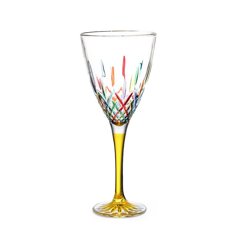 918dc53627e3 Murano glass wine glasses from the world-famous Italian glass workshop