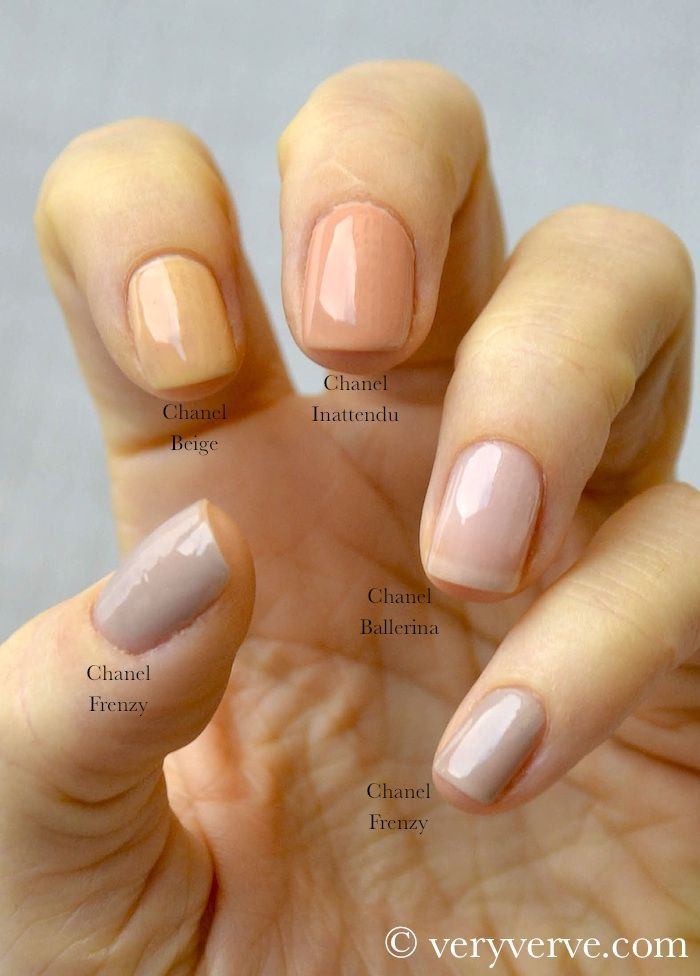 veryverve: Chanel Nude nail polish trend fall winter 2012 2013 ...