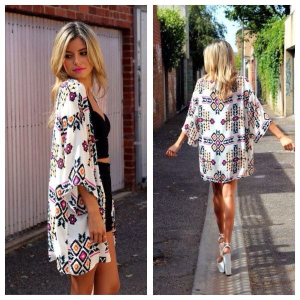 Mexican Summer Cape by Madison Square