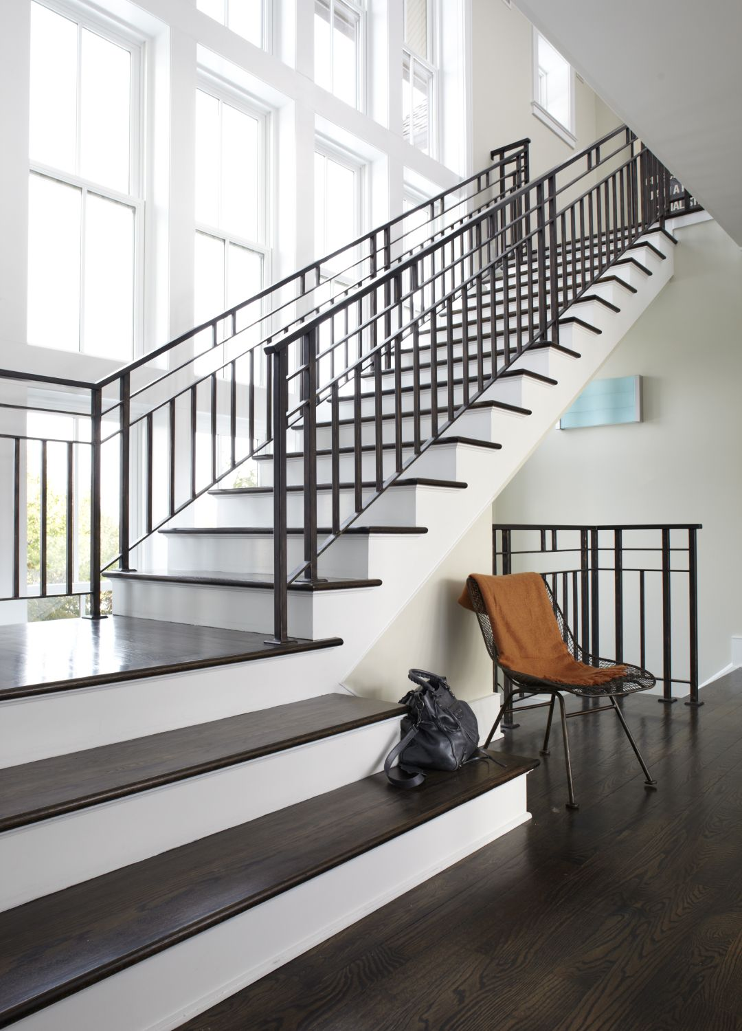 Best Modern Classic Modern Staircase Transitional House 400 x 300